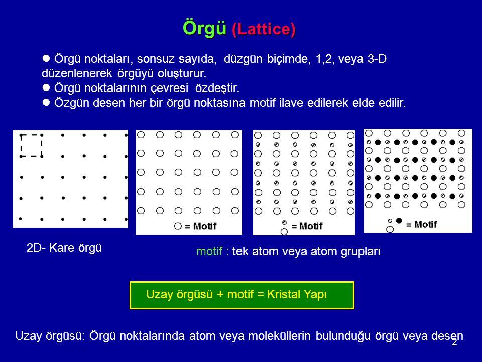 13 Problem Al ( 26.98 akb) ymk yapıya sahiptir ve atom yarıçapı 143.2 pm dir.