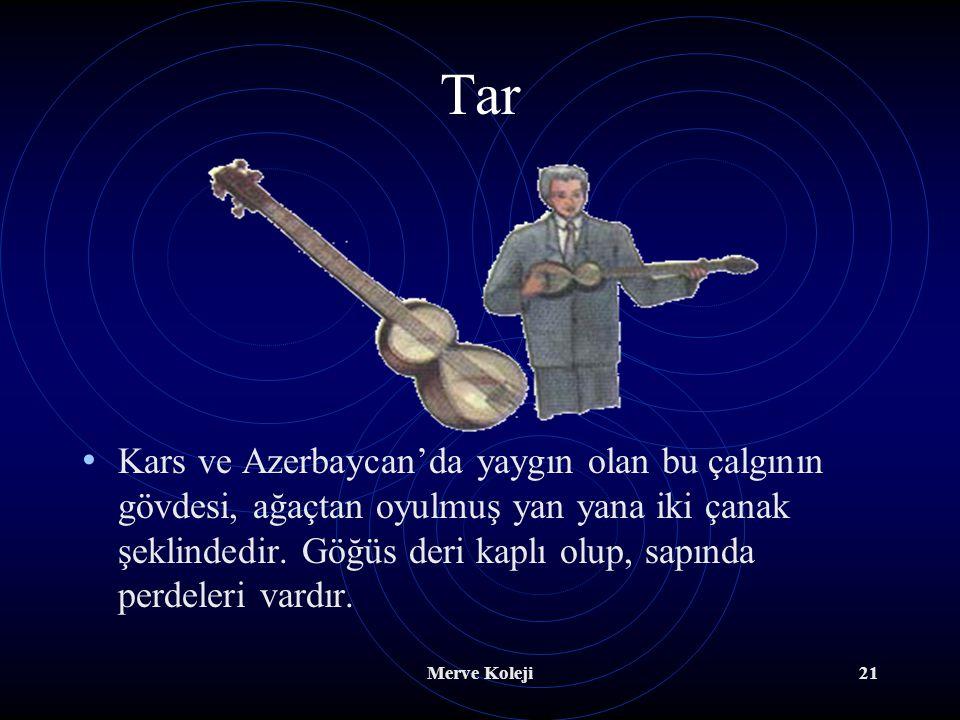 Merve Koleji20 B.Tezene İle Çalınanlar Bağlama En eski Türk halk çalgısıdır. Kökeni kopuza dayanır. Divan sazı, bağlama ve cura diye boylarına göre üç