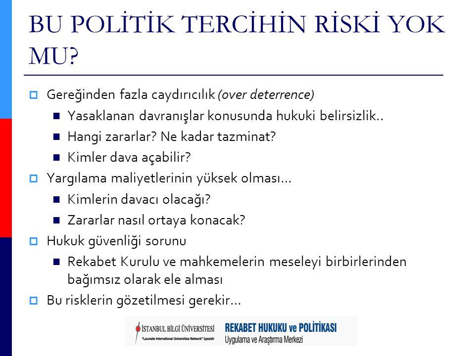 BU POLİTİK TERCİHİN RİSKİ YOK MU.