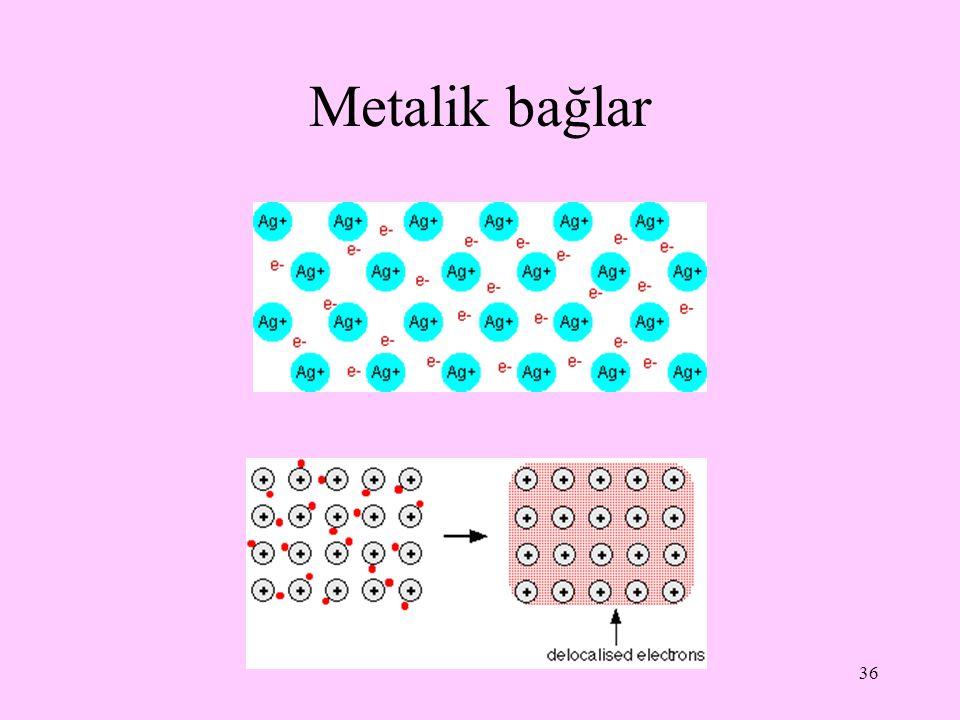 36 Metalik bağlar