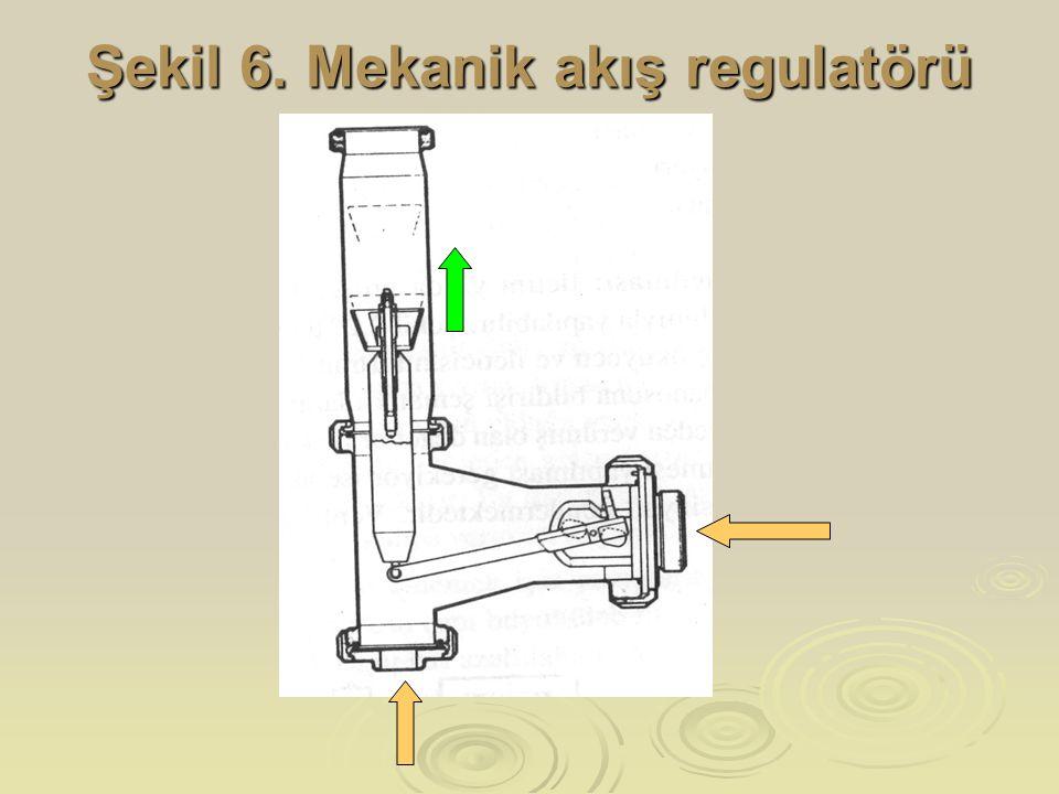 Şekil 6. Mekanik akış regulatörü