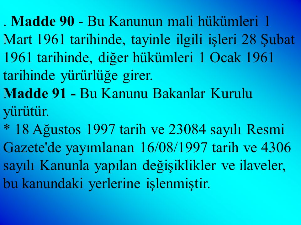 Geçici Madde 10 - (Ek: 16/8/1997 - 4306/2 md.) İlköğretimin altı, yedi ve sekizinci sınıf öğretimini ortaöğretim kurumları bünyesinde yapmakta olanlar