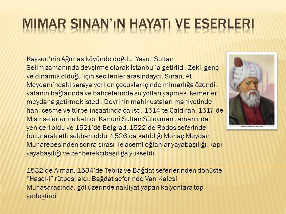 Kayseri'nin Ağırnas köyünde doğdu.