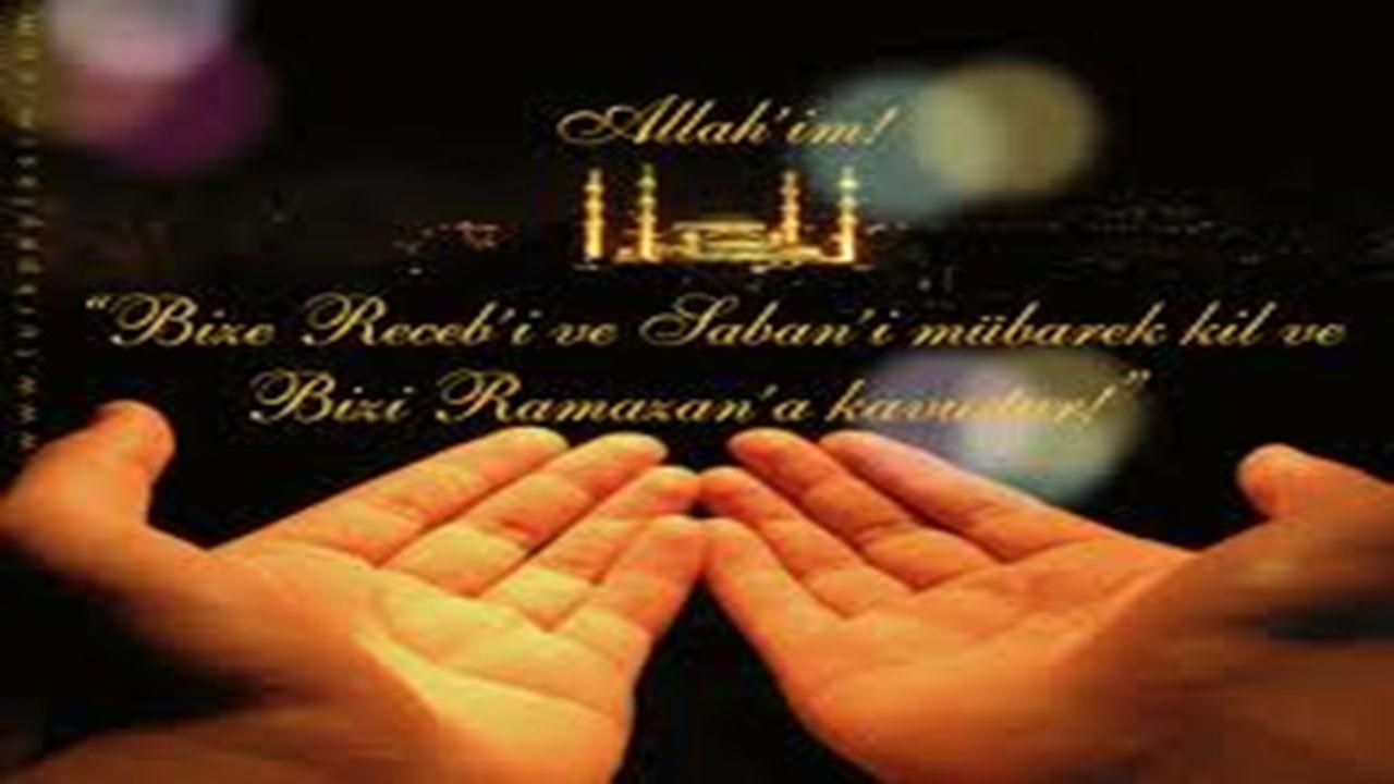 Ramazana Hazırlık Receb ve Şaban ayları, rahmet ayı olan Ramazanı karşılayan aylar olup Ramazan ayının müjdecisidir.