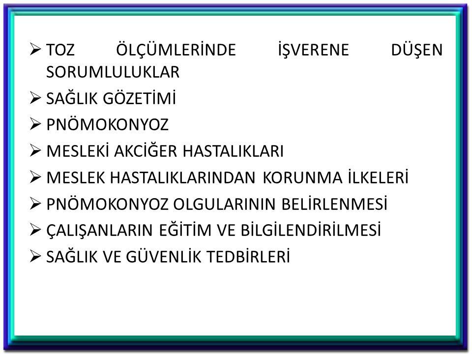SİLİKOSİS
