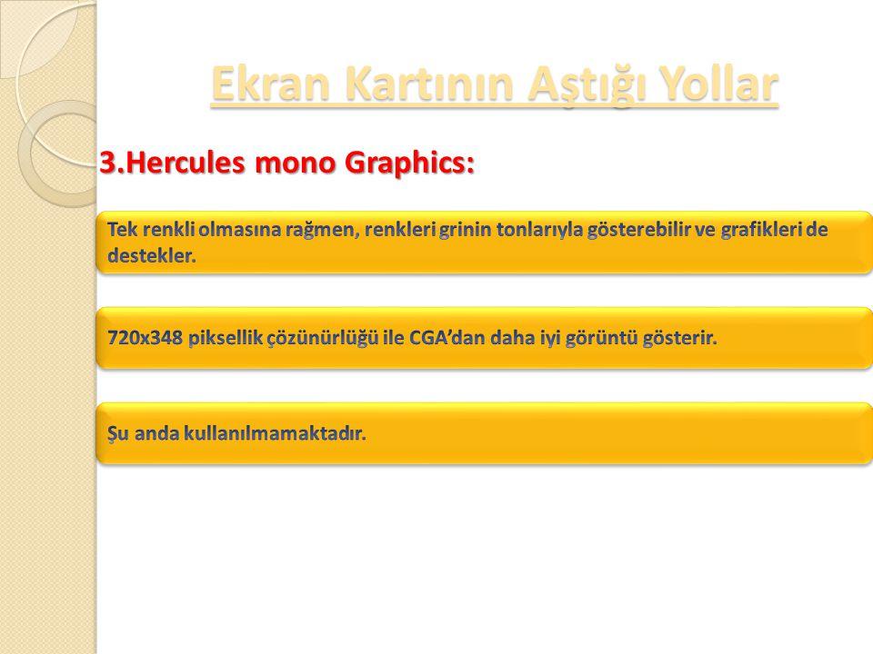 2.CGA (Color Graphics Adapter): Ekran Kartının Aştığı Yollar