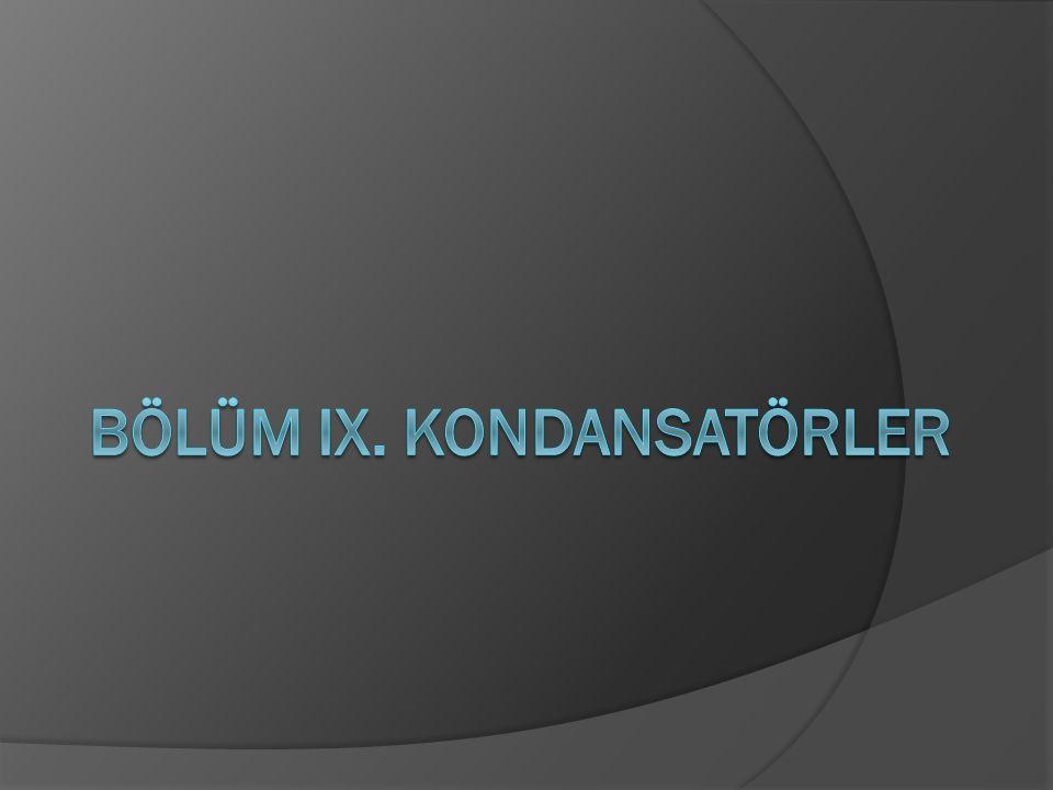 Kondansatör Çeşitleri (Yalıtkan cinsine göre)  Kondansatörleri sınıflandırmanın en çok kullanılan yöntemi yalıtkan maddesine göre sınıflandırmadır.
