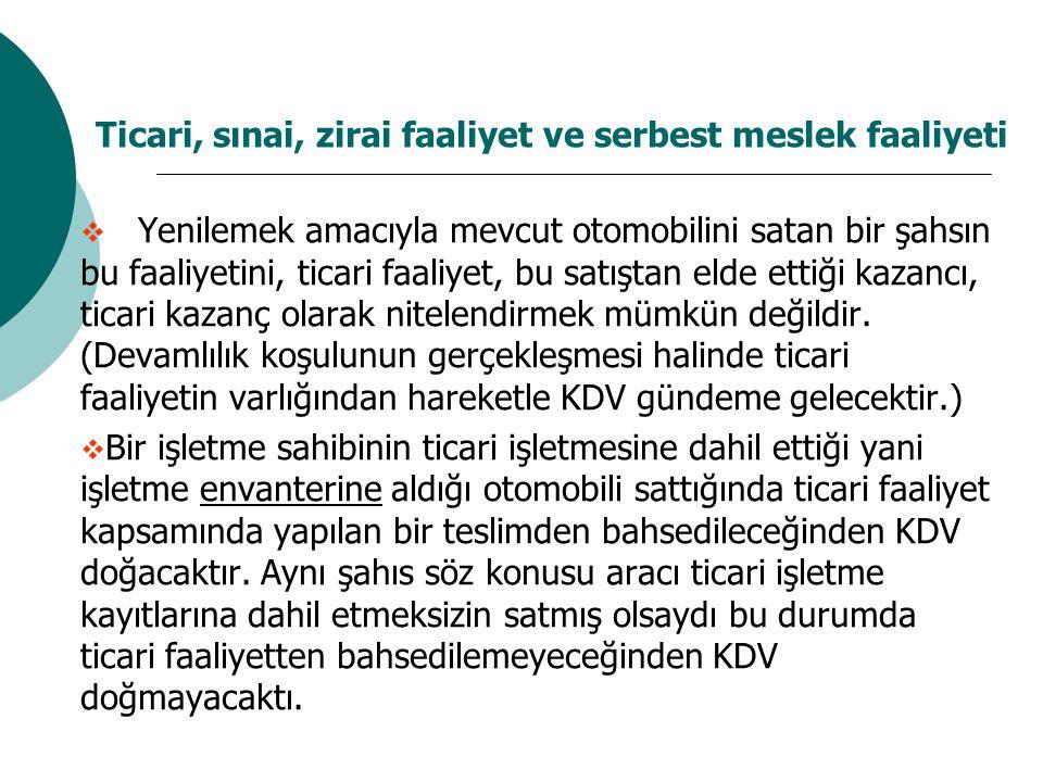 Matraha Dahil Unsurlar  ÖTV'ye tabi mallarda KDV, ÖTV dahil tutar üzerinden hesaplanır.