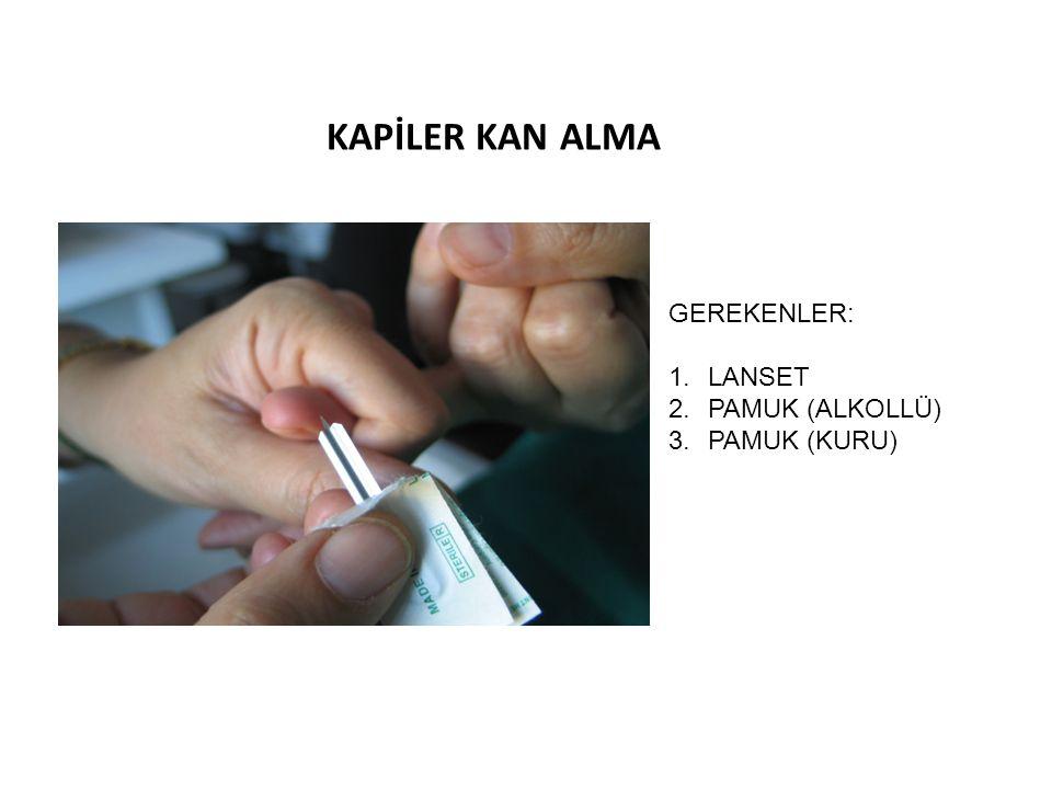ANEMİ VAKA ÖRNEK 3 Normositer normokrom anemi Örnek: Kronik hastalık anemisi, akut kanama