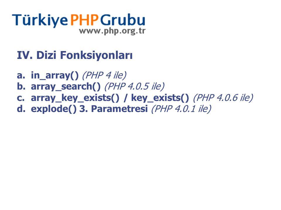 V-e.parse_ini_file() (PHP 4 ile) 1.