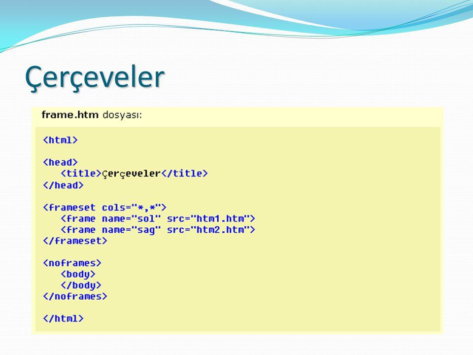 HTML Formları CheckBox Kullanıcının doğru/yanlış (true/false) şeklinde mantıksal değer girmesinde kullanılır.