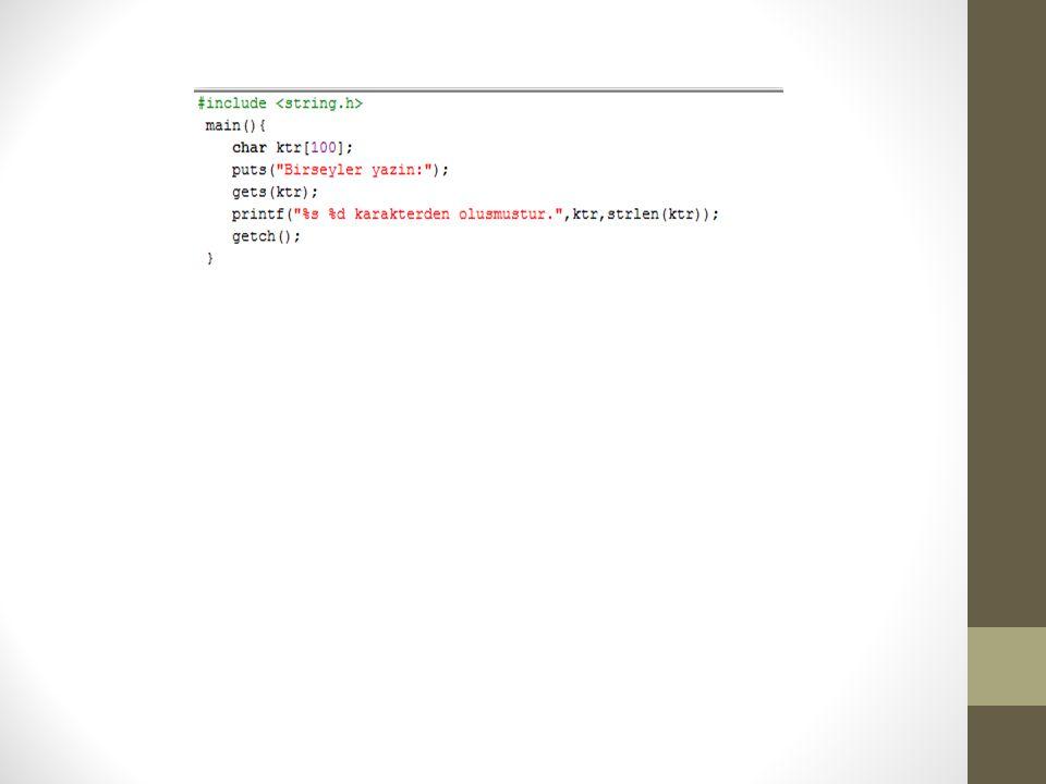 Diziler Dizi, aynı tipteki verilere tek bir isimle erişmek için kullanılan bir kümedir.