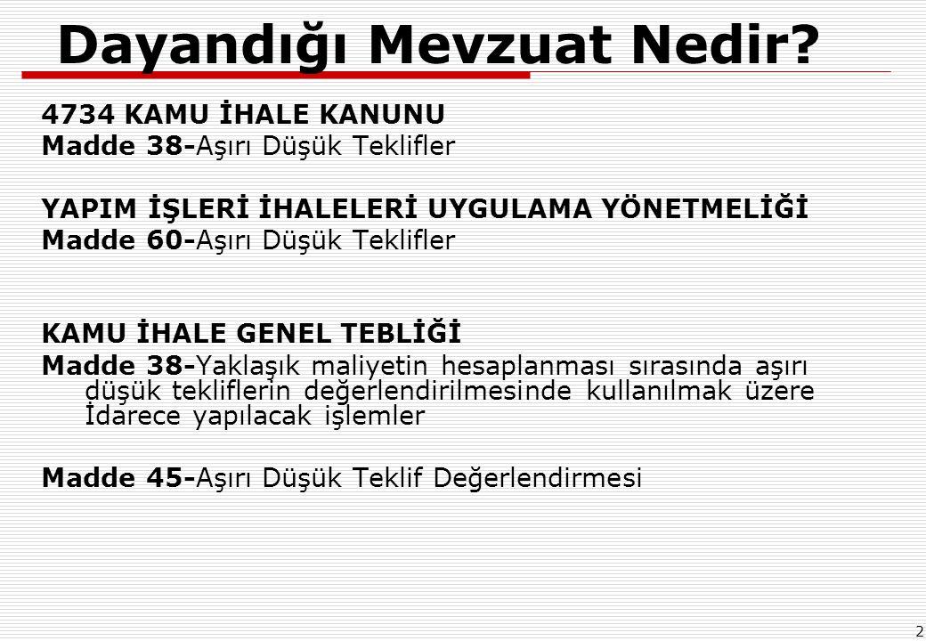 13 4- Sıralı Analiz Girdileri Tablosu !!.