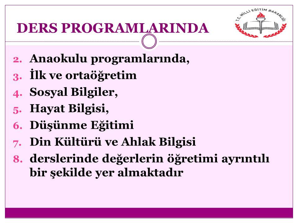 Türk Mill î Eğitiminin Amaçları Beden, zihin, ahlak, ruh ve duygu bakımlarından dengeli ve sağlıklı şekilde gelişmiş bir kişiliğe ve karaktere, hür ve