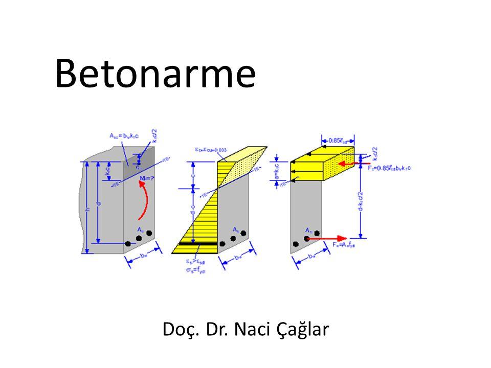 Şekil Değiştirme: Betona basınç deneyi uygulanarak gerilme-deformasyon diyagramları belirlenir.
