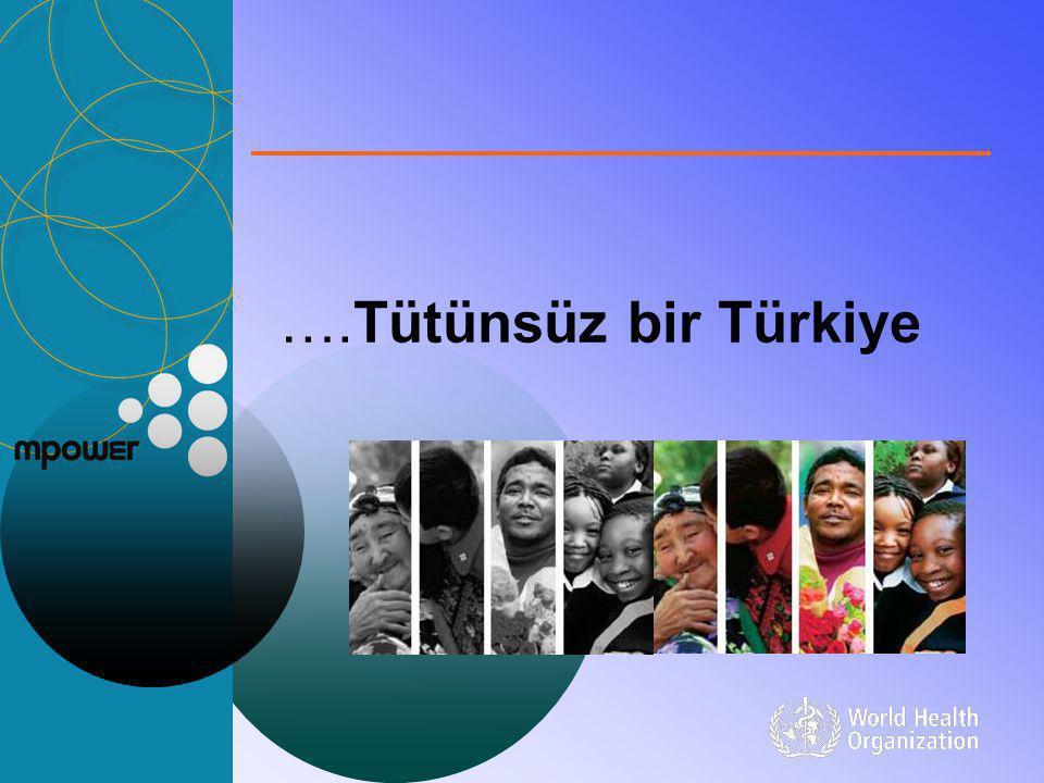 ….Tütünsüz bir Türkiye