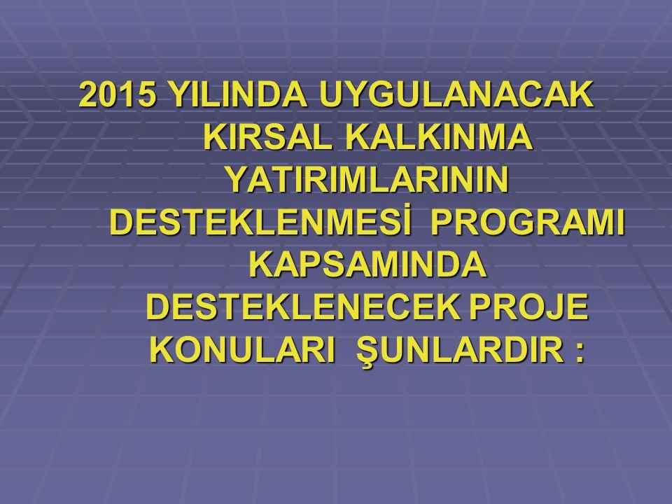 2011 – 2014 yıllarında hibe desteği alan yatırımcılar bu etapta (9.