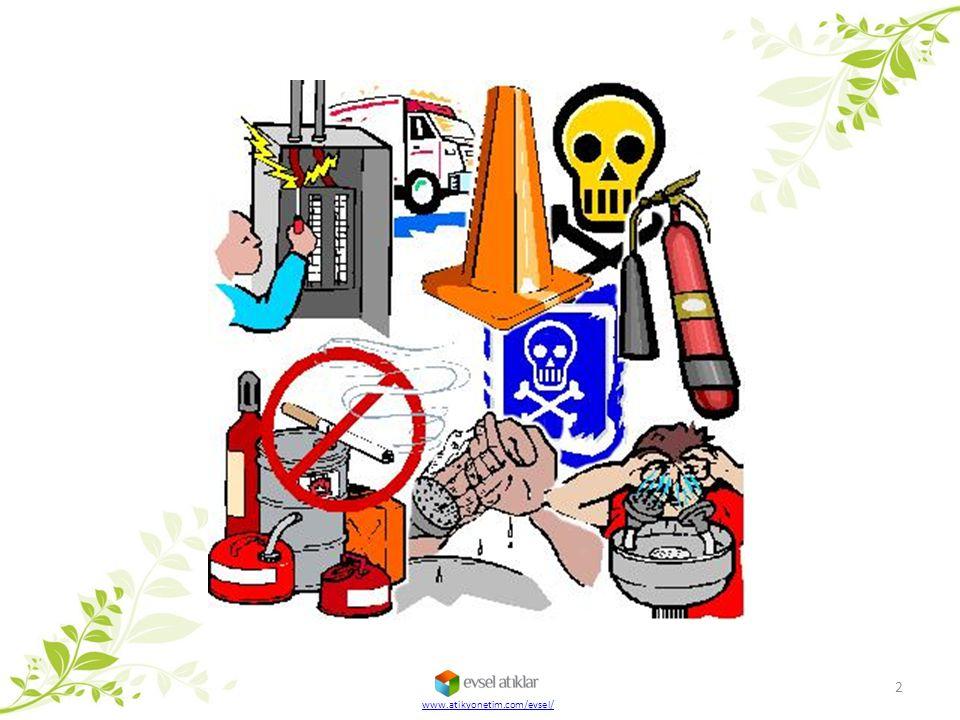  Kimyasal malzemelerin etiketleri üzerinde yer alan S harfi ürünü güvenli muhafaza edebilmemiz için gereken koşulları belirtir.