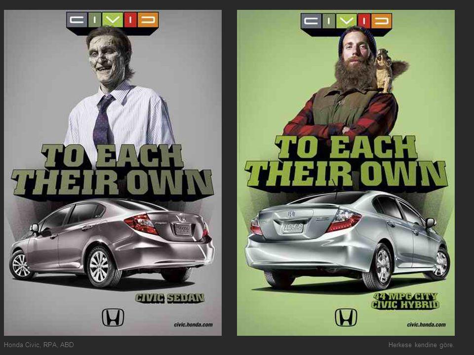 Honda Civic, RPA, ABDHerkese kendine göre.