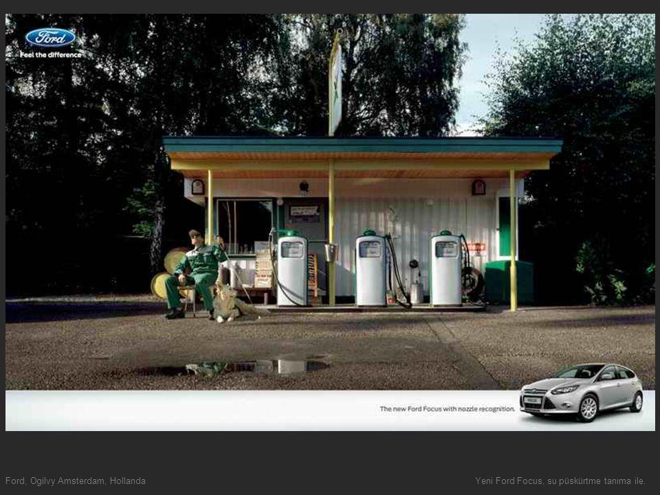 Ford, Ogilvy Amsterdam, HollandaYeni Ford Focus, su püskürtme tanıma ile.