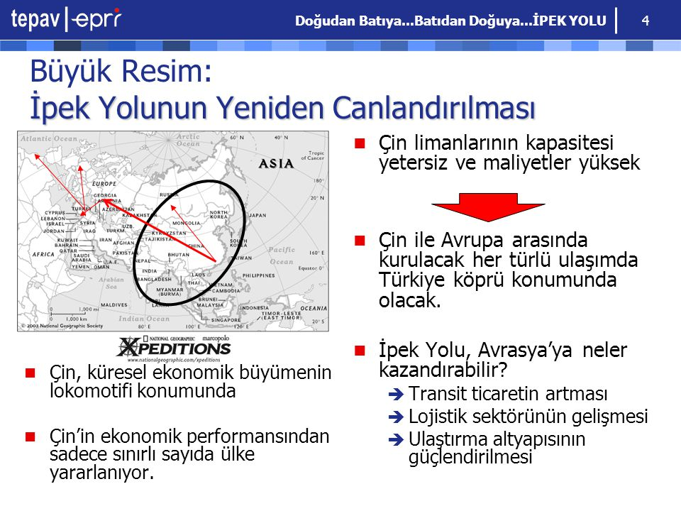 Doğudan Batıya...Batıdan Doğuya...İPEK YOLU 15 İpek Yolu ve TOBB Uluslararası karayolu taşımacılığında; TIR Sözleşmesi gereğince TOBB, Türkiye nin kefil kuruluşudur.