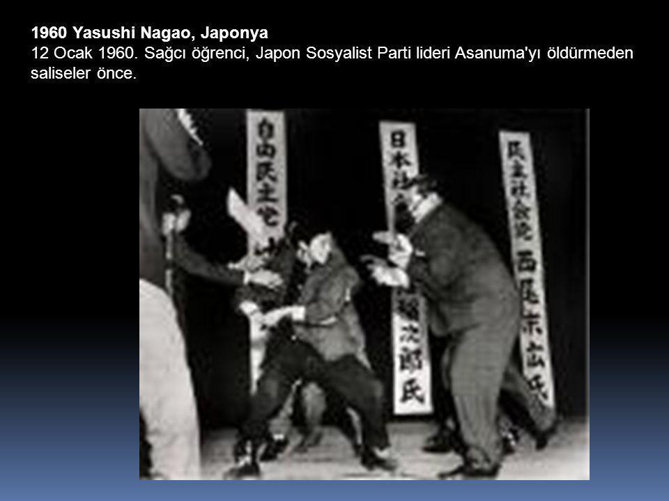 1960 Yasushi Nagao, Japonya 12 Ocak 1960.