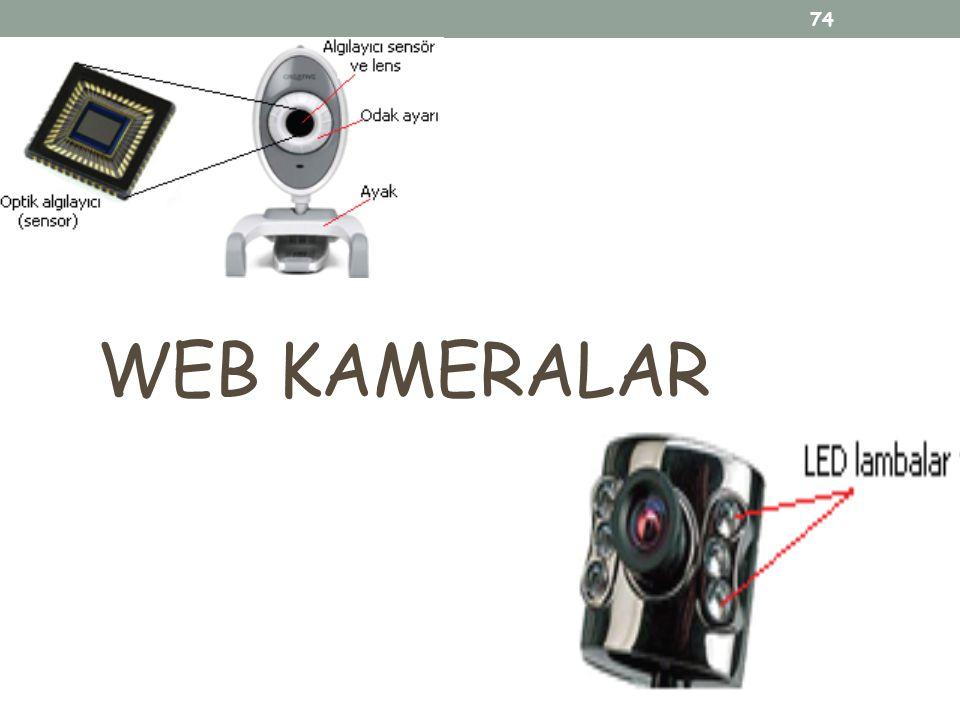 74 WEB KAMERALAR