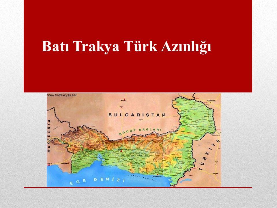 Batı Trakya Türk Azınlığı