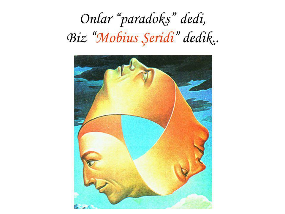 "Onlar ""paradoks"" dedi, Biz ""Mobius Şeridi"" dedik.."