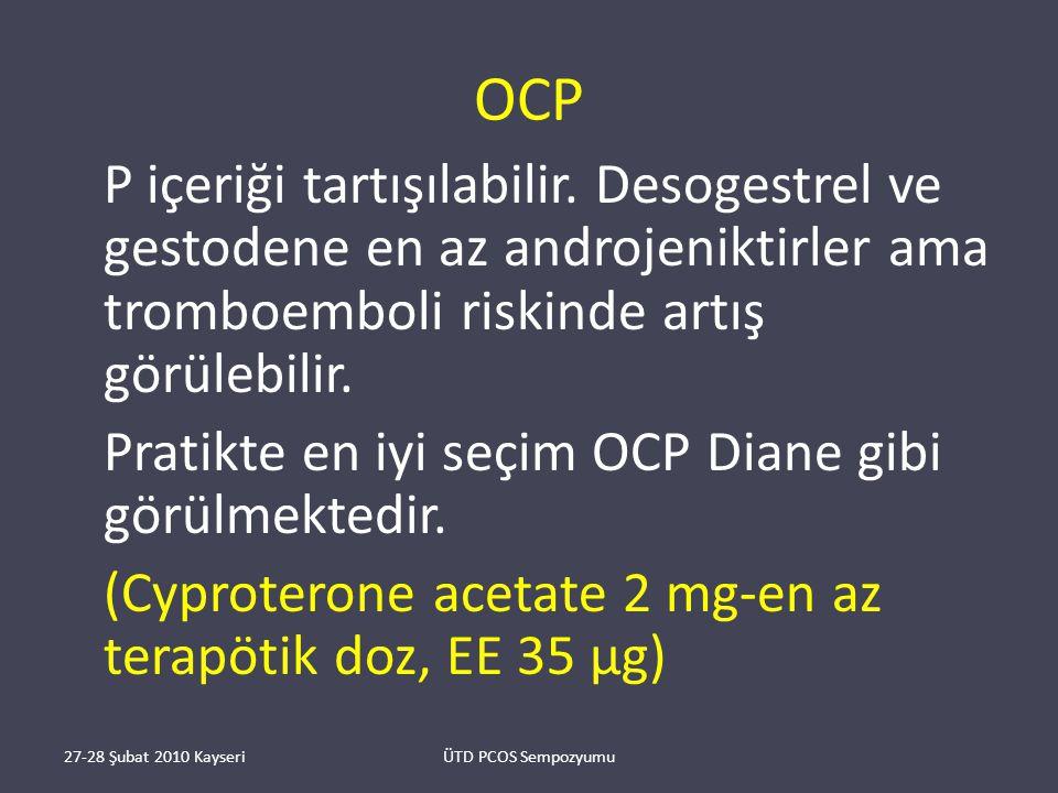 OCP P içeriği tartışılabilir.