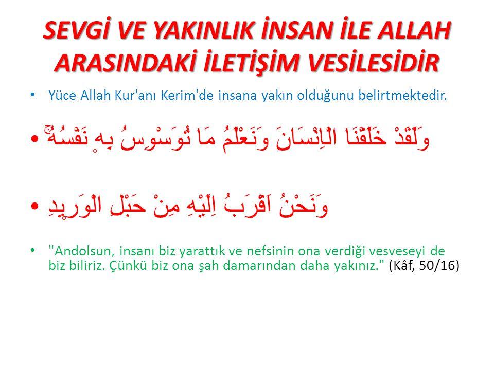 PEYGAMBER EFENDİMİZ VE İLETİŞİM İslam'ın kabul görmesinde, Hz.