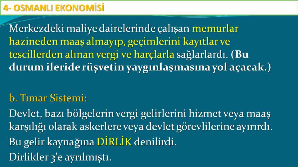 Madencilik ve Maden Sanayii Osmanlılar madeni para ve savunma sisteminin ihtiyaçlarına göre madenciliğe önem vermişlerdir.