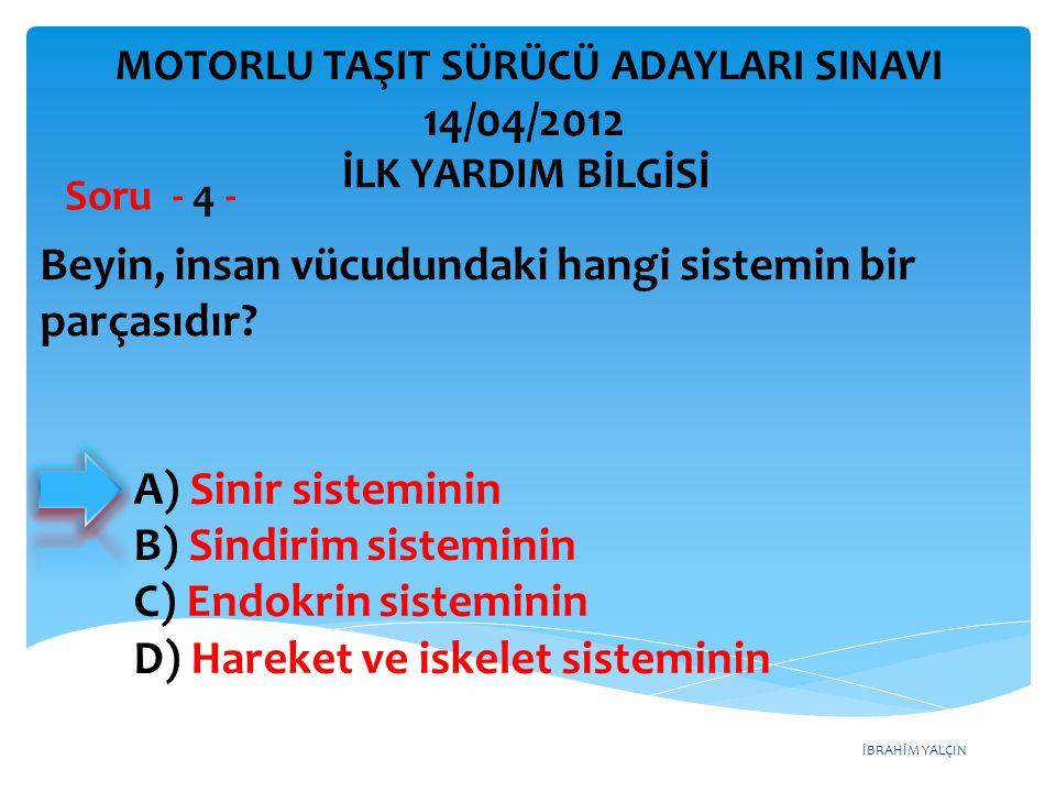 İBRAHİM YALÇIN A) Gabari B) Viraj C) Platform D) Tehlikeli eğim Araçların emniyetle seyrine devam edebilmesi için vites küçültmeyi gerektiren uzunluk veya açıdaki yol eğimine ne denir.