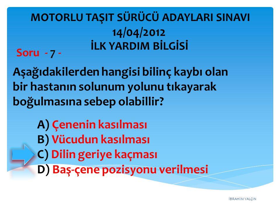 Aşağıdakilerden hangisi arızalı aracı başka bir araç çekerken dikkat edilmesi gereken kurallardandır.