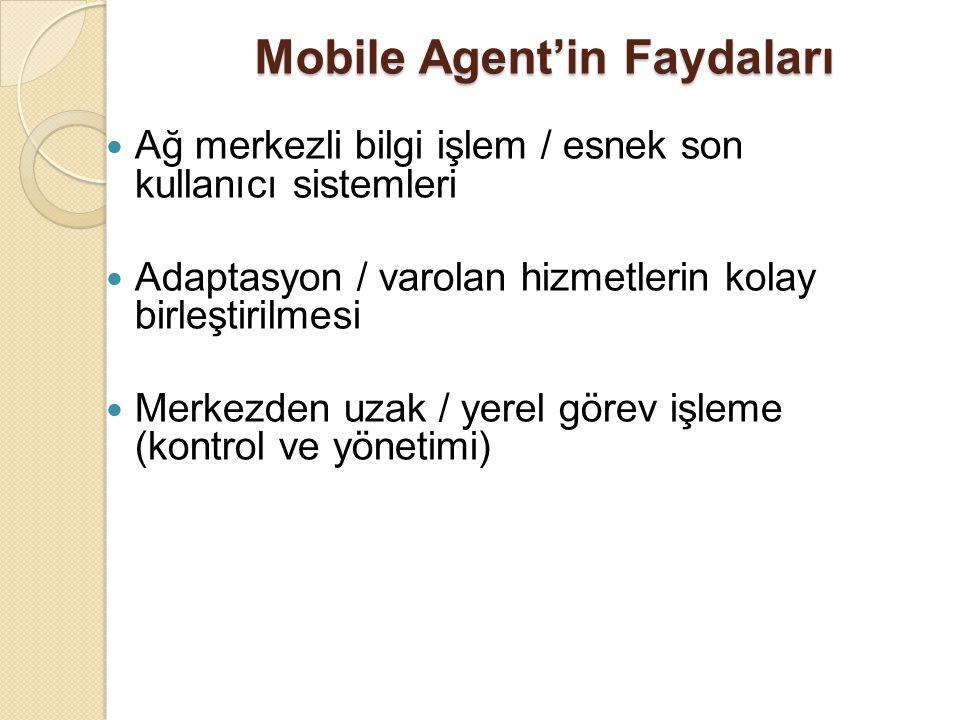 Temel Agent Platform Hizmetleri