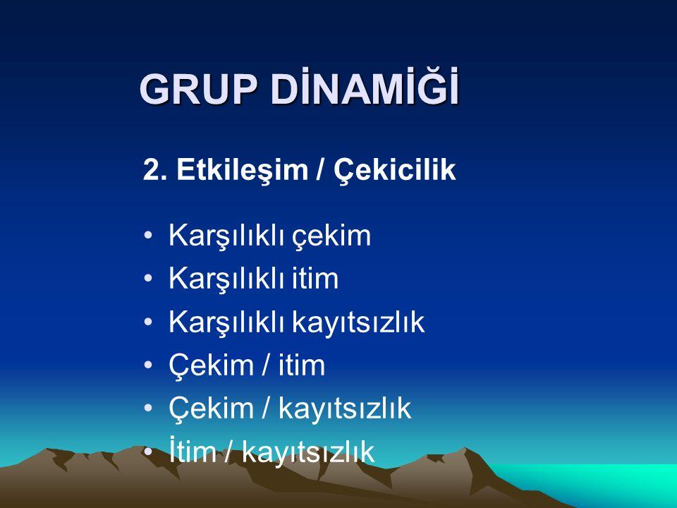 GRUP DİNAMİĞİ 2.