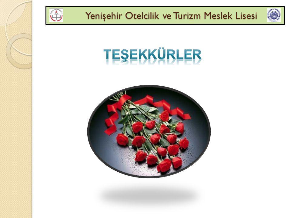Yenişehir Otelcilik ve Turizm Meslek Lisesi Yenişehir Otelcilik ve Turizm Meslek Lisesi