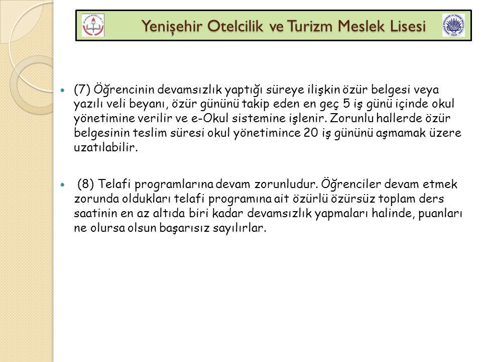 Yenişehir Otelcilik ve Turizm Meslek Lisesi Yenişehir Otelcilik ve Turizm Meslek Lisesi Öğretmenler kurulu Madde 109- (1) Öğretmenler kurulu, kurumun öğretmen, uzman ve eğitici personelinden oluşur.