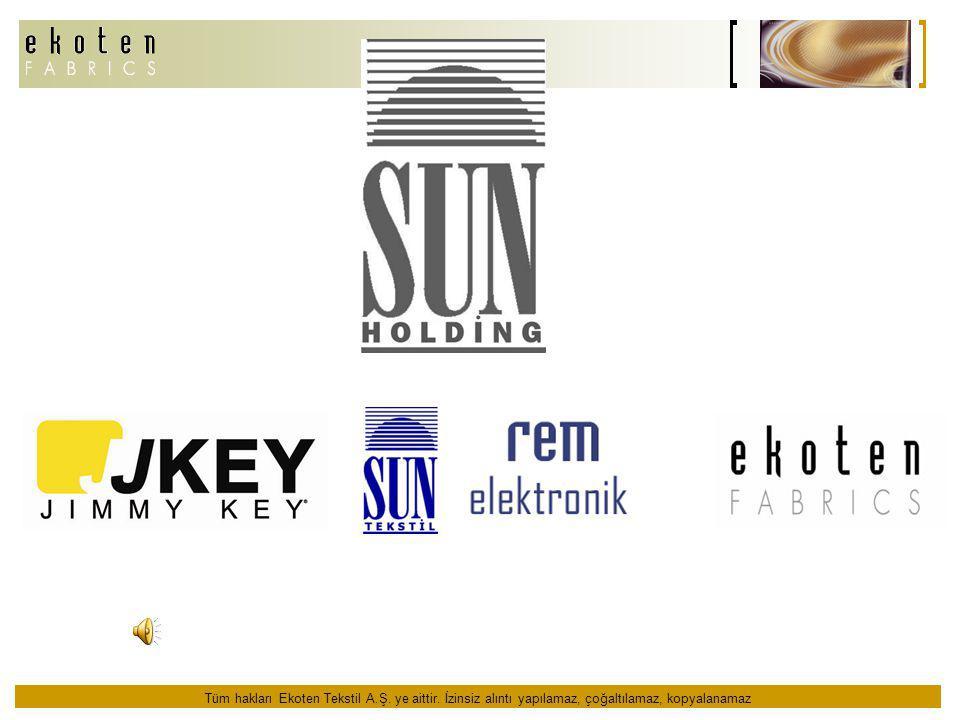Sun Grubu, üçü tekstil ve hazır giyim sektöründe faaliyet gösteren, diğeri elektronik firması, 4 ayrı şirketten oluşmaktadır.