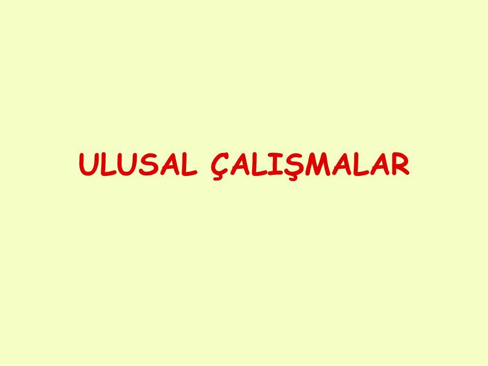 ULUSAL ÇALIŞMALAR