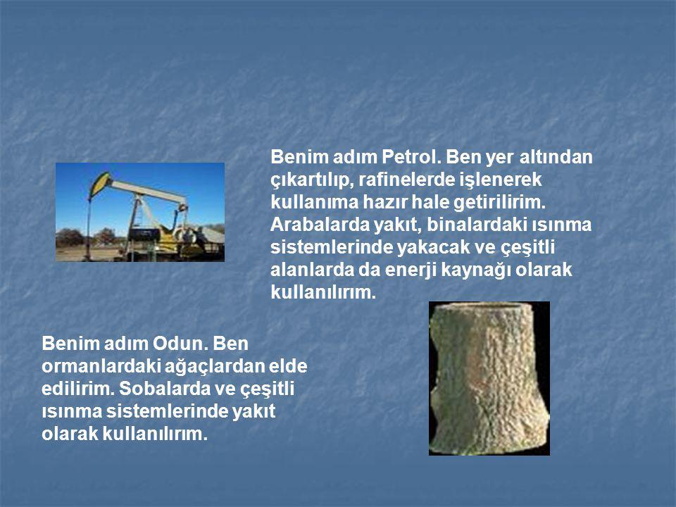Benim adım Petrol.