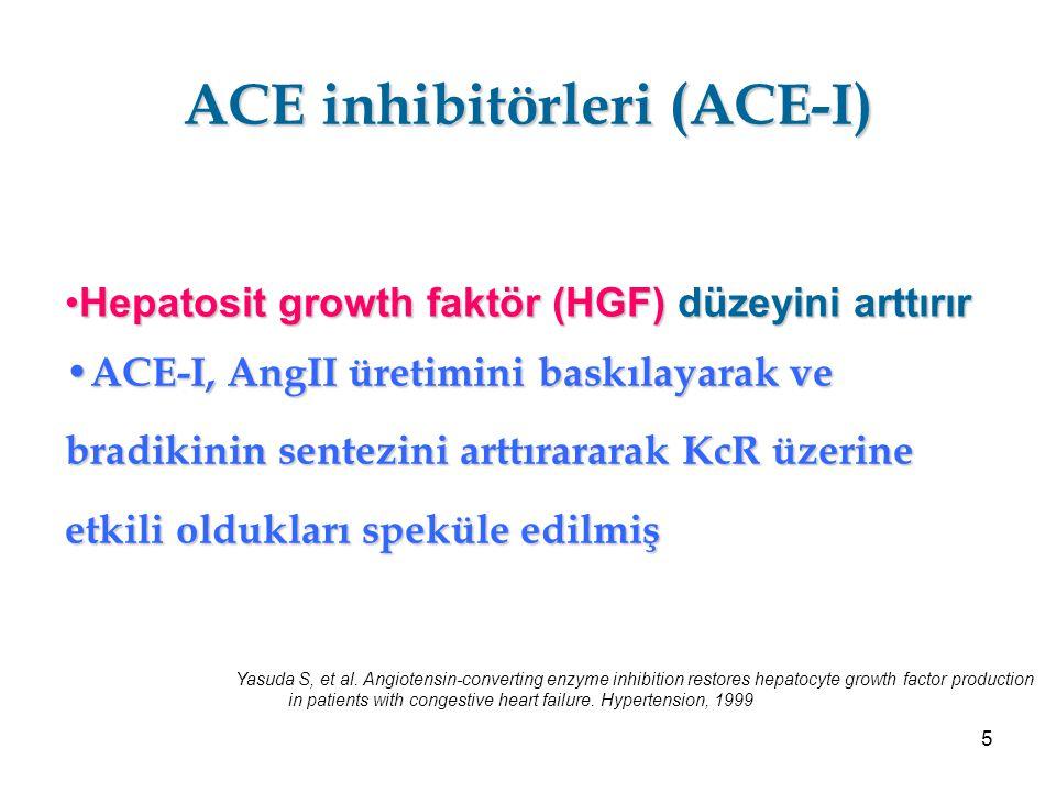 6 ACE-I sonrası prolifere hücre nükleik asid (PCNA)'nın 36.