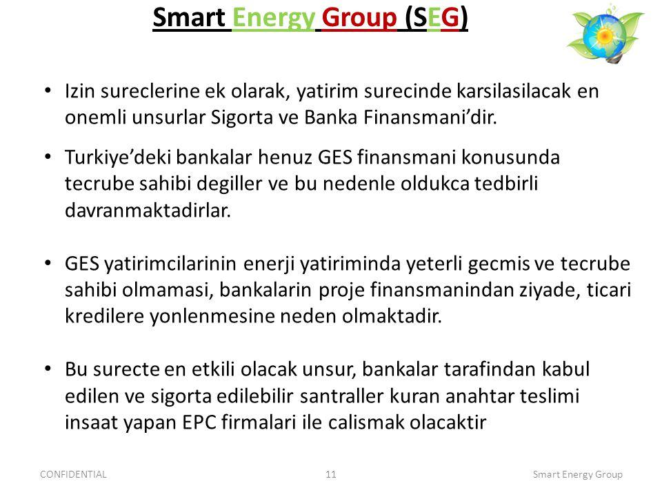Izin sureclerine ek olarak, yatirim surecinde karsilasilacak en onemli unsurlar Sigorta ve Banka Finansmani'dir. Turkiye'deki bankalar henuz GES finan