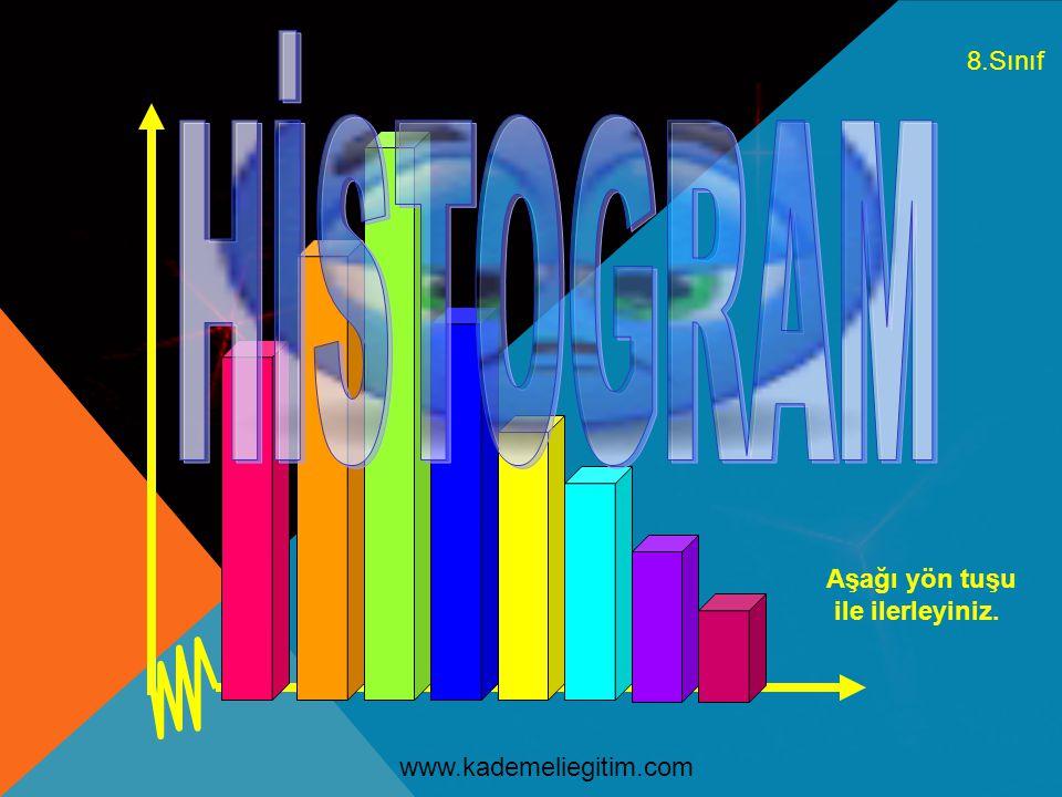 Yaşamımızda bir çok alanda verilerin analizinde histogram tekniğinden faydalanırız.
