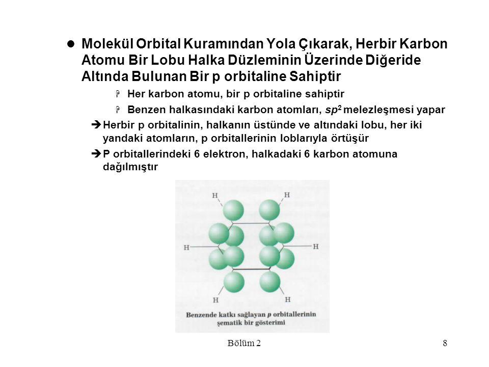 Bölüm 239  Çözünürlükleri öngörmek için bir kural, benzer benzeri çözerdir  Polar ve iyonik bileşikler,polar çözücülerde çözünmeye elverişlidir  Metanol, su ile her oranda karışabilir ve aralarında kuvvetli hidrojen bağları oluştururlar  Eğer alkolün karbon zinciri uzunsa, su içerisinde az çözünür  Desil alkolün uzun karbon zinciri hidrofobiktir; molekülün daha küçük bir kısmı olan olah OH, hidrofiliktir