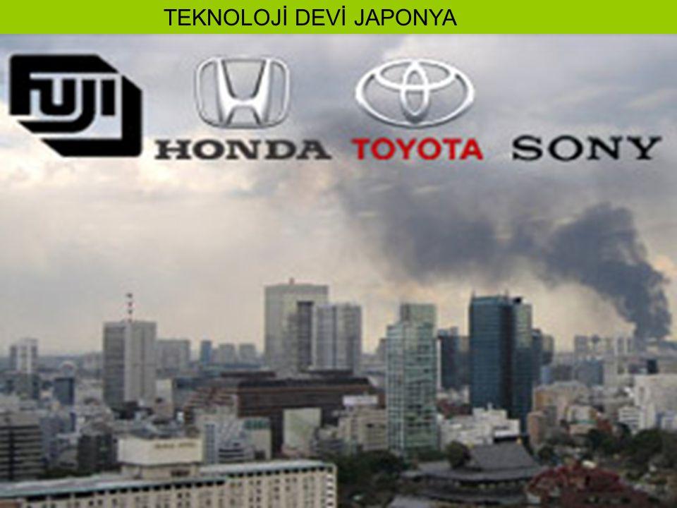 TEKNOLOJİ DEVİ JAPONYA