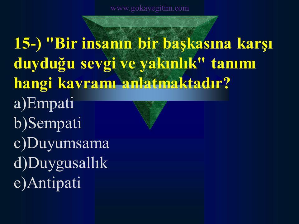www.gokayegitim.com 15-)