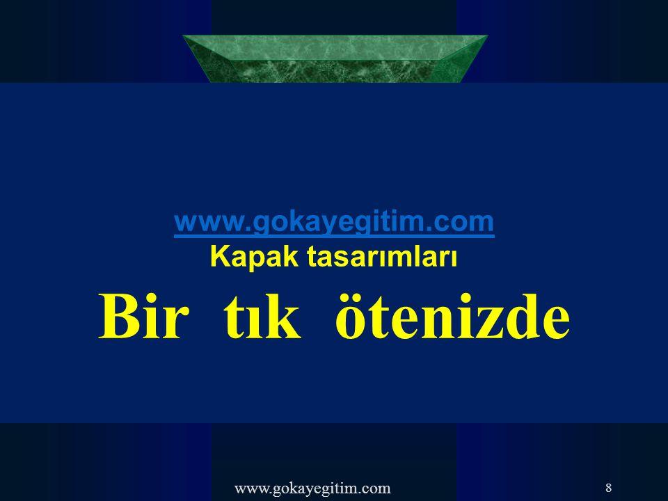 www.gokayegitim.com 49-) Kişi, topluluk içinde bulunmasıyla psikolojisi ve davranışları değiştirmektedir.