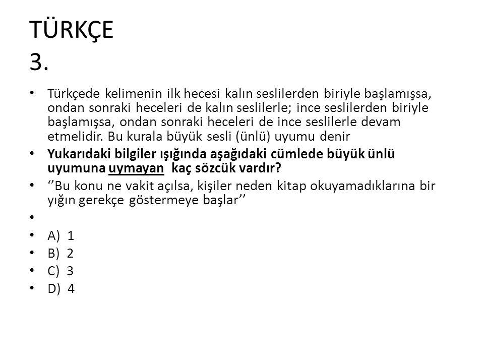 TÜRKÇE 3.