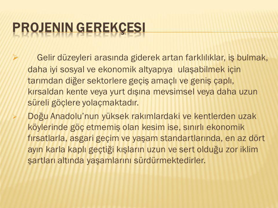 Türkiyede ve Proje alanında doğal kaynakları ve yaşamı etkileyen en önemli doğal afetler şunlardır: i) deprem, ii) toprak kayması, iii) sel, iv) kaya düşmesi, v) orman yangını, vi) çığ ve vii) fırtınalar.